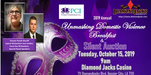 3rd Annual Unmasking Domestic Violence Breakfast and Silent Auction