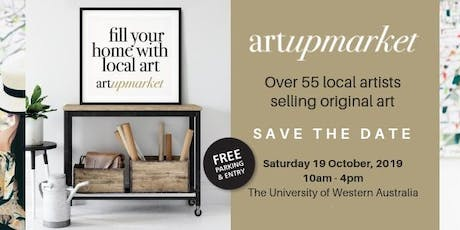 Art Upmarket - Sat 19th Oct 2019 tickets