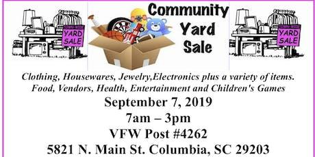 """NAACP Community Yard Sale Fundraiser"" tickets"