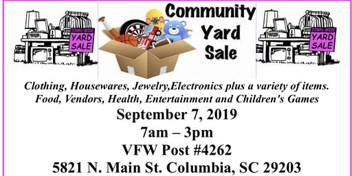 """NAACP Community Yard Sale Fundraiser"""