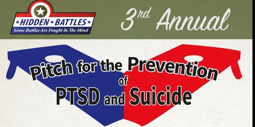 Pitch for the Prevention of PTSD & Suicide Awareness Cornhole Tournament/Family Day