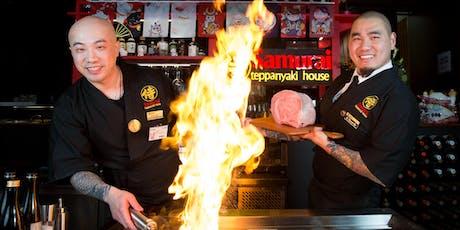 Samurai Teppanyaki House presents Australia's first Kobe beef degustation tickets