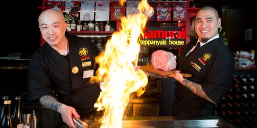 Samurai Teppanyaki House presents Australia's first Kobe beef degustation