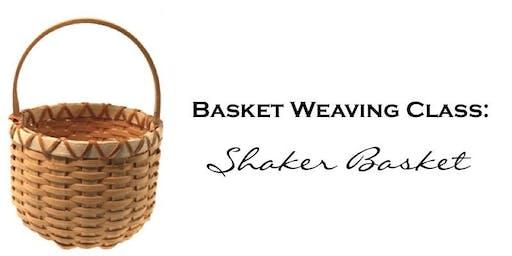 Basket Weaving Class: Shaker Basket