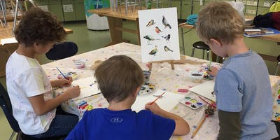 Exploring Watercolor Painting - 6:30 September 4-Week Course Wed/Fri