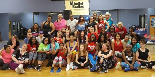Mindful Bodies New Year's Day 1/1/20 (1980's themed) Dance Fitness Party