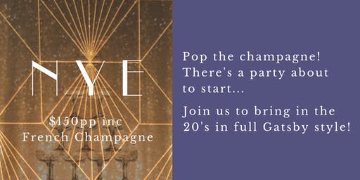 New Years Eve Champagne Party Adelaide
