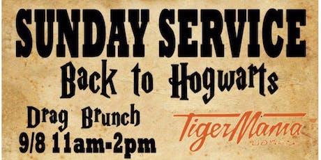 Tiger Mama Drag Brunch - Sunday Service: Return to Hogwarts tickets