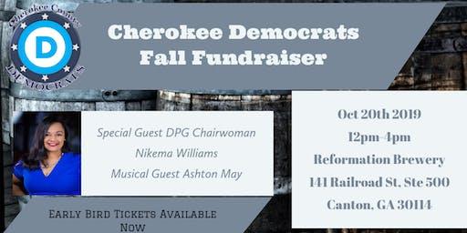 Cherokee Democrats Fall Fundraiser