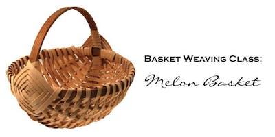 Basket Weaving Class: ***** Basket