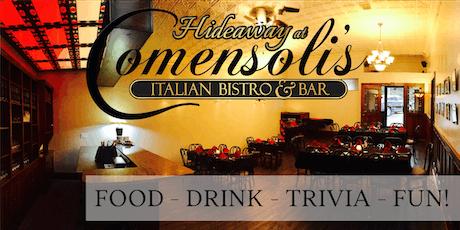 After 5 @Comensoli's Italian Bistro & Bar tickets