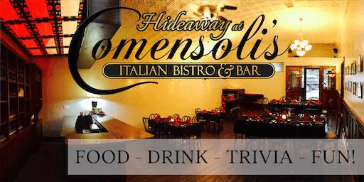 After 5 @Comensoli's Italian Bistro & Bar