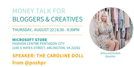 DC Bloggers August Workshop: Money Talk for Bloggers and Creatives  tickets