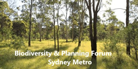Local Biodiversity and Planning Forum tickets