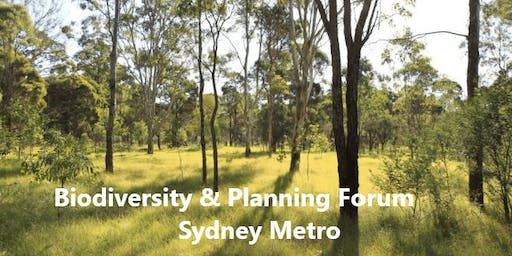 Local Biodiversity and Planning Forum
