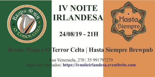 IV Noite Irlandesa com Bruno Maia e O Terror Celta no Hasta Siempre Brewpub