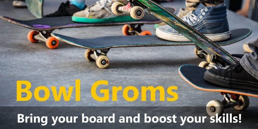 Bowl Groms Skate Skills Development