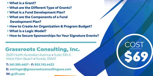 Becoming the Best You!® Grant Writing & Resource Development
