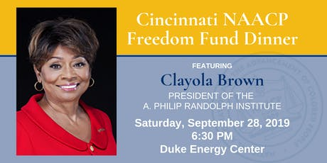Cincinnati NAACP Freedom Fund Dinner tickets
