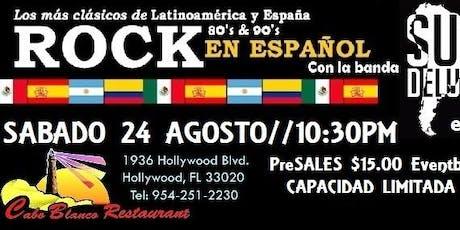 Clasicos del Rock en Español 80's & 90's tickets
