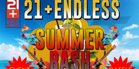 21+ENDLESS SUMMER BASH 2019 tickets