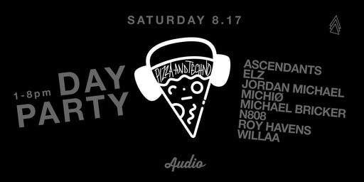 Pizza and Techno at AUDIO SF: Extra Crispy
