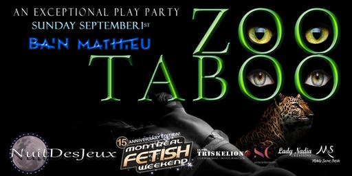 ZOOTABOO NUITDESJEUX PLAY PARTY