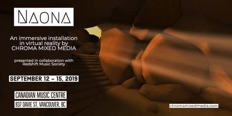 NAONA: an immersive VR Installation (Thursday) tickets