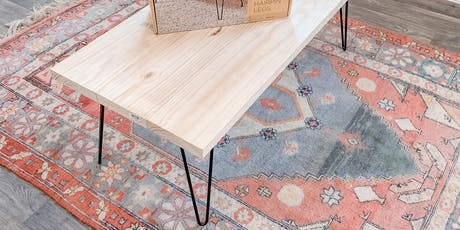 BRUNCH & BUILD: DIY Hairpin Coffee Table tickets