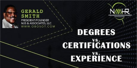 Degrees vs. Certifications vs. Experience tickets