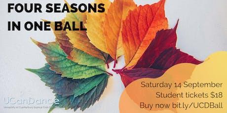 UCanDance: Four Seasons in One Ball tickets
