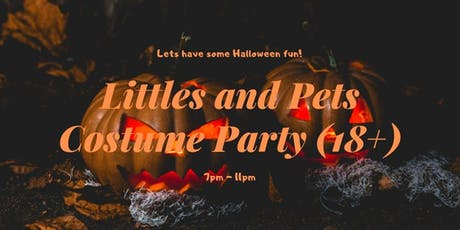 Littles and Pets Costume Party (18+) tickets