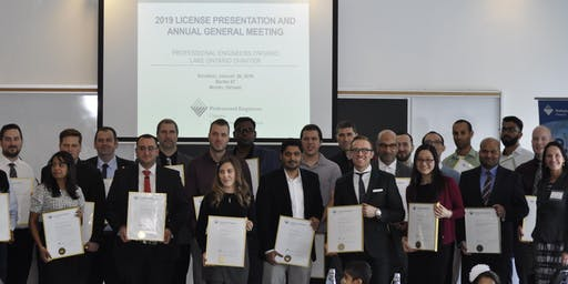 PEO Lake Ontario Chapter - Fall 2019 Certificate Presentation Ceremony