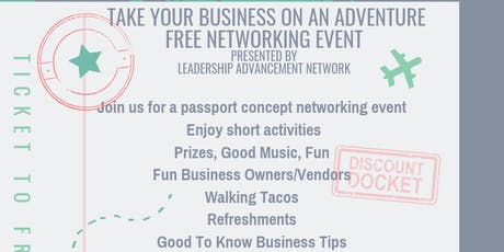Take Your Business On An Adventure - Networking Event tickets