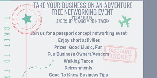 Take Your Business On An Adventure - Networking Event