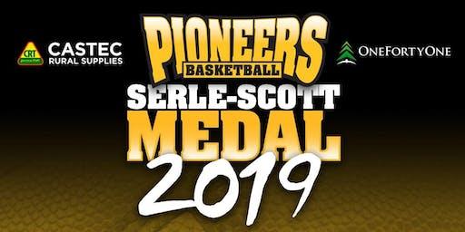 Pioneers Basketball Serle - Scott Medal 2019