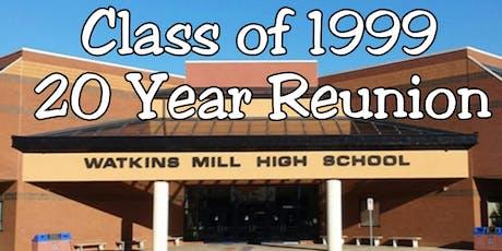 Watkins Mill High School - Class of 1999 Reunion tickets