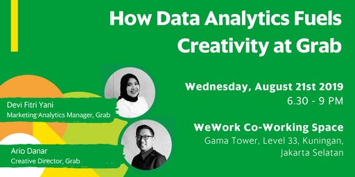 Grab Talks: How Data Analytics Fuels Creativity  at Grab