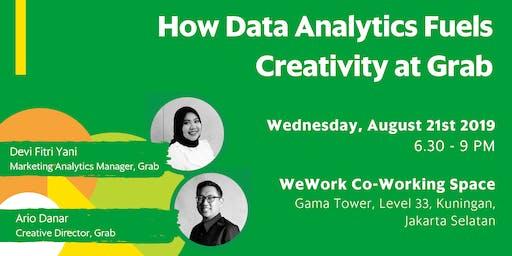 Grab Talks: How Data Analytics Fuels Creativity  at Grab