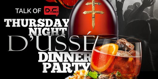 D'usse Dinner Party At The Park At 14th || Full Buffet & Unlimited Bellinis, Mimosas or Wine