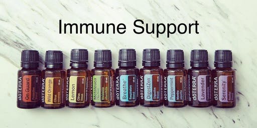 Immune Support with Essential Oils