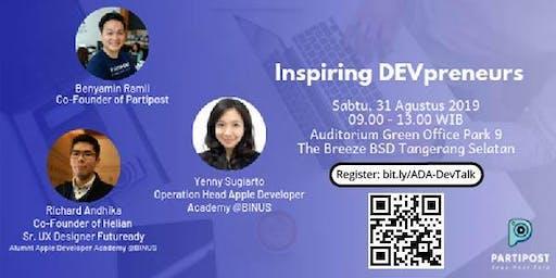 ADA DevTalk: Inspiring DEVpreneurs