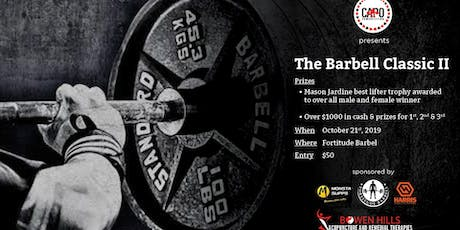 The Barbell Classic II tickets