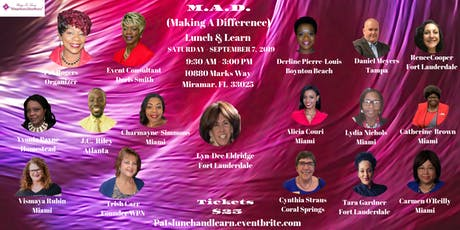 M.A.D. (Making A Difference) Lunch & Learn tickets