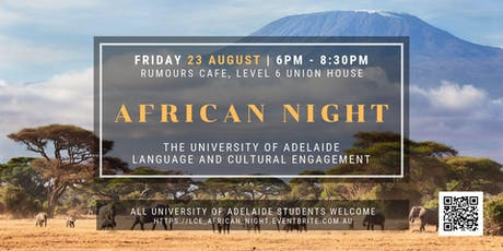 LCE African Night  tickets