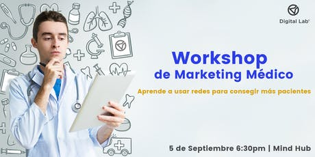 Como generar pacientes para tu consultorio médico - Marketing Workshop tickets