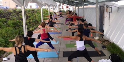 Rooftop Yoga for People of Color