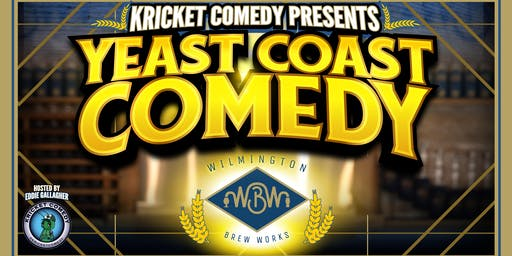 Kricket Comedy Presents: Yeast Coast Comedy Fundraiser