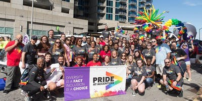 Walk with Accenture in the 2019 Atlanta Pride Parade