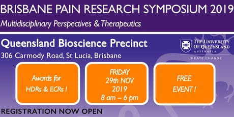 Brisbane Pain Research Symposium 2019 tickets